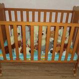 Детская кроватка Micuna Dido Испания из натурального дерева
