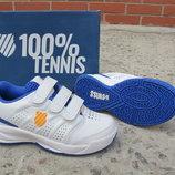 Новые кожаные кроссовки для тенниса K-Swiss. разм.28. оригинал