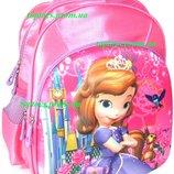 Рюкзак с 3D рисунком для Девочки школьный София Прекрасная Sofia the First . Объёмное изображение