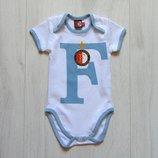 Стильный бодик с коротким рукавом для мальчика. F. Размер 3-6 месяцев. Состояние новой вещи