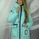 Новинка Зимняя женская курточка Олива