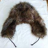 Меховая шапка ушанка, Ог 56-58 см