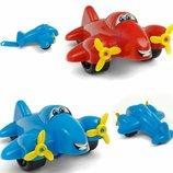 Самолет пластиковый Максик Технок 3701 на колесиках самолетик