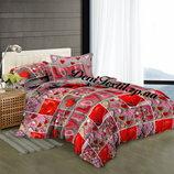 Комплект постельного белья Сатин 100% хлопок все размеры