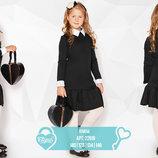 Лаконичное школьное платье