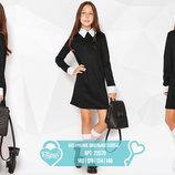 Аккуратное школьное платье