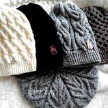 Шикарные комплекты Шапка шарф-боа