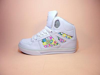 Женские, высокие, белые, демисезонные кроссовки сникерсы хайтопы на платформе. Размер 37-42.