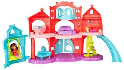 Fisher-Price кукольный домик Даша и друзья дворец Nickelodeon Dora & Friends Puppy Palace Adventure