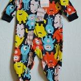 Carters новые флисовые пижамы, человечки, слипы, человечек. Картерс Возможен Опт