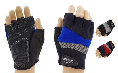 Перчатки спортивные перчатки для фитнеса Zel 6120 размер S-L