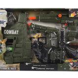 Военный набор оружия 33480 с бронежилетом ролевые игры для мальчиков