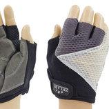 Перчатки спортивные перчатки для фитнеса Zel 6116 размер S-L