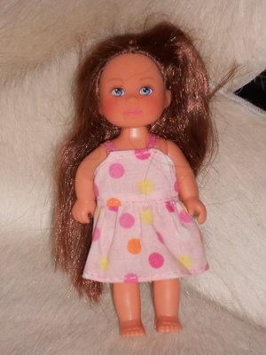 отличная маленькая куколка Simba Германия оригинал клеймо 11.5 см