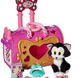 Disney Store переноска с котиком Фигаро Минни Маус Just Play Girls Minnie Happy Helpers Pet Carrier
