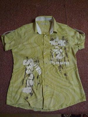 Мужская рубашка с кор. рук., подойдет подростку