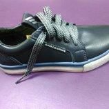 Кожаные спортивные туфли на мальчика 33 р Santegros, сантагрос, кроссовки, кросовки, туфлі, шкіра