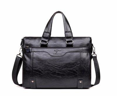 a61be4ee227e Мужская сумка-портфель под формат А4 Черная Сумка для документов Кс21
