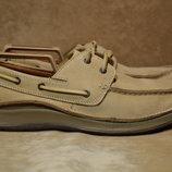 Clarks Active Air Leather туфли, топсайдеры, мокасины. Оригинал 43 р.
