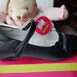 Туфли черные для девочки, новые, р. 31,32,34,35