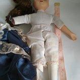 Коллекционная винтажная кукла фарфор фарфоровая куколка на детали реставрвцию