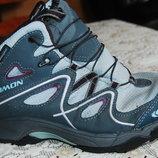 деми ботинки salomon на девочку 34 размер
