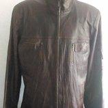 Куртка піджак шкіряна 52-54