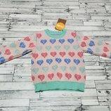 Милый свитерок Бемби р.74-92