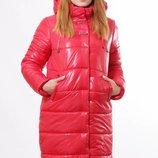 Зимняя куртка из плащевки на синтепоне цвет Красный