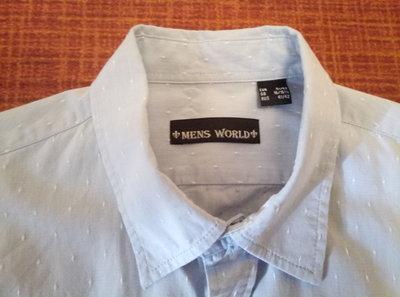 4129fd7d979b8bb Рубашка мужская фирмы Mens World р.41/42: 220 грн - рубашки в Киеве ...