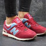 Кроссовки New Balance 574 red/blue 39р
