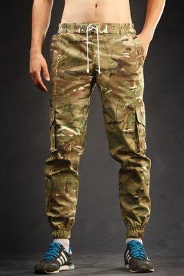 Мужские штаны карго джоггеры Rush Multicam