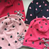 Трикотажная шапка для девочки Бантики Польша 52-54 см