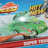 Детский трек Max Speed с горками, в коробке