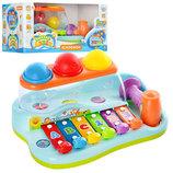 Музыкальная развивающая игрушка ксилофон Бряк-Звяк Joy Toy 9199