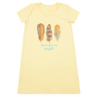 Ночная сорочка для девочки Перышки