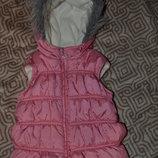 тёплая жилетка девочке Girl2Girl на 2-3 года рост 98 см