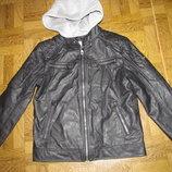 Куртка кожаная на мальчика р-146 Vintage Co
