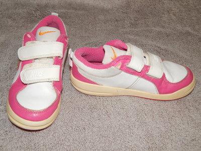 1bf37c8c Бело-Розовые кожаные кроссовки Nike на девочку. Размер 30 12 .: 250 ...