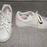 Кожаные белые кроссовки Lonsdale. Размер 31 13 .