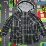 демисезонная куртка пальто Next 12-18 мес 86 см большимерит