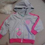Фирменная ветровка куртка курточка для девочки 2- 3-4 г 98-104 см