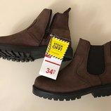 Кожанные ботинки Zippy размер 27 29 32 40