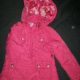 Легкая стеганная куртка F&F 1,5-2г