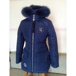 Новинка, зимняя куртка Вероника для девочек/подростков 146-164 см