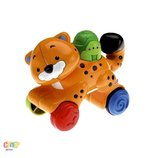 игрушка веселые животные с сюрпризом Тигренок Fisher-Price Mattel Сша оригинал