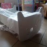 Кукольная кроватка Hello Kitty 2 в 1 Белая Sweet Baby