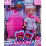 Кукла - повар с аксессуарами К899-18