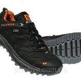 Мужские кроссовки Salomon Black кожаные