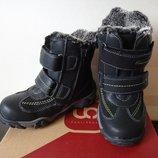 Новые зимние теплые ботинки Centro, р. 27, 17,5 см стелька